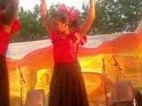 gitanne qui danse flamenco