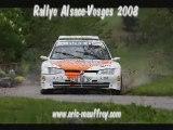 Eric Mauffrey - Rallye Alsace Vosges 2008
