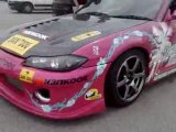 King of Europe Drift Series 2008 Mirecourt Nissan S15 sylvia