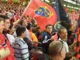 Finale HCup Cardiff Toulouse Munster - Drapeaux
