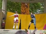 cosplay comedie du livre - Riku (DN Angel) et Yuna (ff x-2)