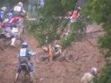 Moto cross de Douvenant du chpt de BRETAGNE à DOUVENANT 22 ( chutes) 2008