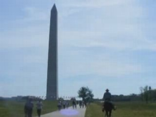Horseman Rides into Washington D.C.