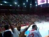 tunisie-espagne 28-29 hand ball bercy JO pekin