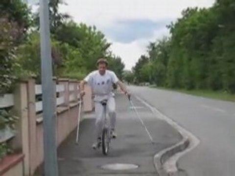 Apprendre le monocycle en quelques heures