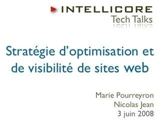 Stratégie d'optimisation et de visibilité de sites web