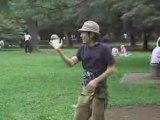 Contact - jonglerie avec des balles en acryliques