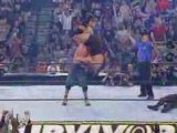 WWE - John Cena - FU to Big Show - incroyable force de cena