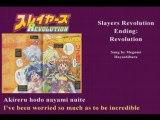 Slayers Revolution Ed- Revolution(+ lyrics)