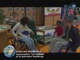 """Asso. """"La Gerbe"""" et le parcours handicap"""