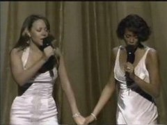 Mariah Carey Whitney Houston When You Believe Live