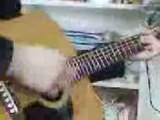 Sebastien à la guitare