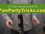 Bar trick - Turning Beerbottles, Yikes!