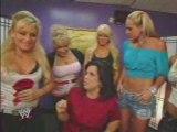 SD & ECW Divas Backstage W/ Vickie