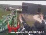 BOOSTER BIKE  montagne russe looping roller coaster
