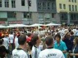 Que font les Allemands en attendant le match...