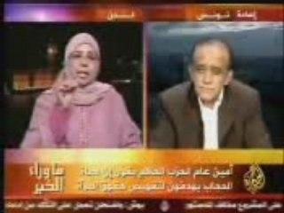 Tunisie, zine el kafirine combat le hijab !!!!!!