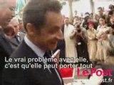 Sarkozy elle est belle ma Carla (attitude de puceau)