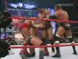 Wwe - Randy Orton Vs Hhh & Batista & Ric Flair