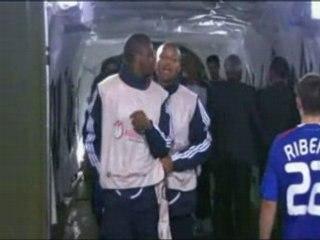 Bagarre entre Vieira Evra Euro 2008