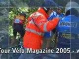Sécurité mise pour l'Etape du Tour 2005 Vélo Magazine