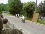 Fete de la moto  stunt burn wheeling