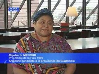 Rigoberta Menchu pour Ingrid
