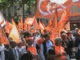 Manifestation pour les retraites et les 35 heures