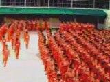 Hommage des prisonniers à Michael Jackson1/3