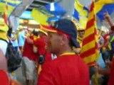 catalans sous le virage sud