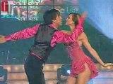 Bailan salsa Karina y Cronwel (Bailando x1 Sueño 14-06-08)