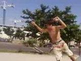 Yeaaaaaaah l'exploit !!!!!!!!!! Rock 180 sur la grande courbe a Gardanne !!