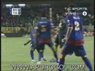 Boca 6 Tigre 2 Goles Palacio Palermo Paletta Martinez Chavez