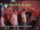 Slavlje u Novom Pazaru nakon pobjede Turske nad Hrvatima