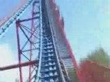 COBRA montagne russe looping  roller coaster