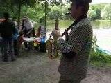 Fête Ville d'Avray Clown Saxo Fête des Etangs 15 juin 2008