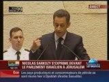 Discours de Sarkozy à la Knesset du 23 juin 2008 1/2