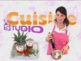 Recette : entrée aux crevettes par Cuisine Studio