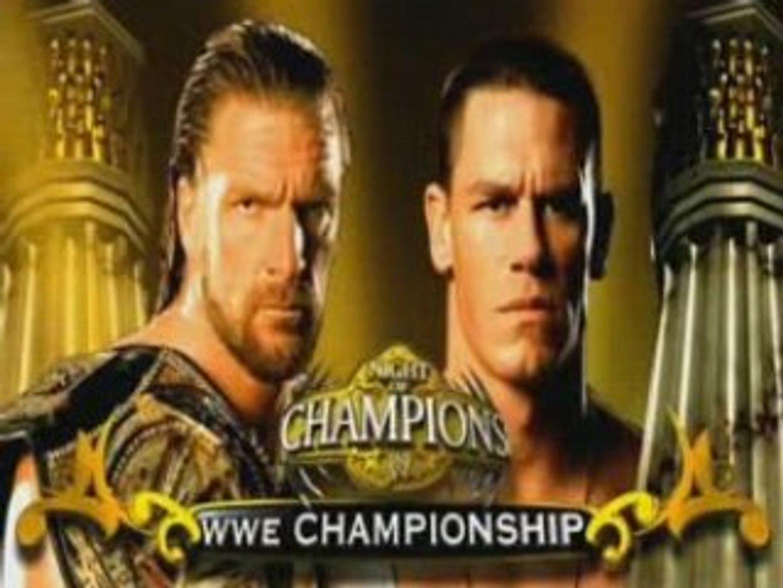 Video Promo john cena vs hhh night of champions 2008