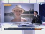 Interview sarah biasini 10 juillet 2008