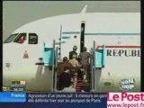 Un tir à l'aéroport de Tel-Aviv au départ de Sarkozy