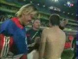 Joie France espagne Zidane fin de match 2006