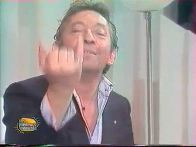 Gainsbourg au jeu de la vérité (7/06/85)