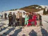 Le meilleur moment de la journée (séjour ski 2008)