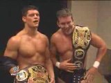 Cody Rhodes and Ted DiBiase comment on winning the WTTC