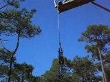 saut elastique Pascal enterrement vie garcon sensation