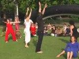 Danse au parc de la villette le 29 juin 2008