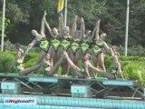 Coupe de France de natation synchronisée à Salon