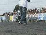 Face Skitching Manu de Nice Stunt Bike Show