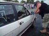 le mans auto 2008 camping anglais polo
